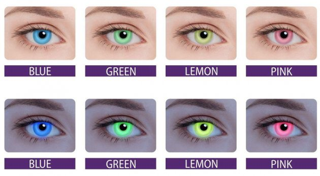 Цветные контактные линзы: зачем они нужны