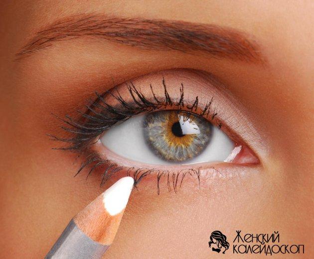 Как красить глаза, чтобы они казались больше?
