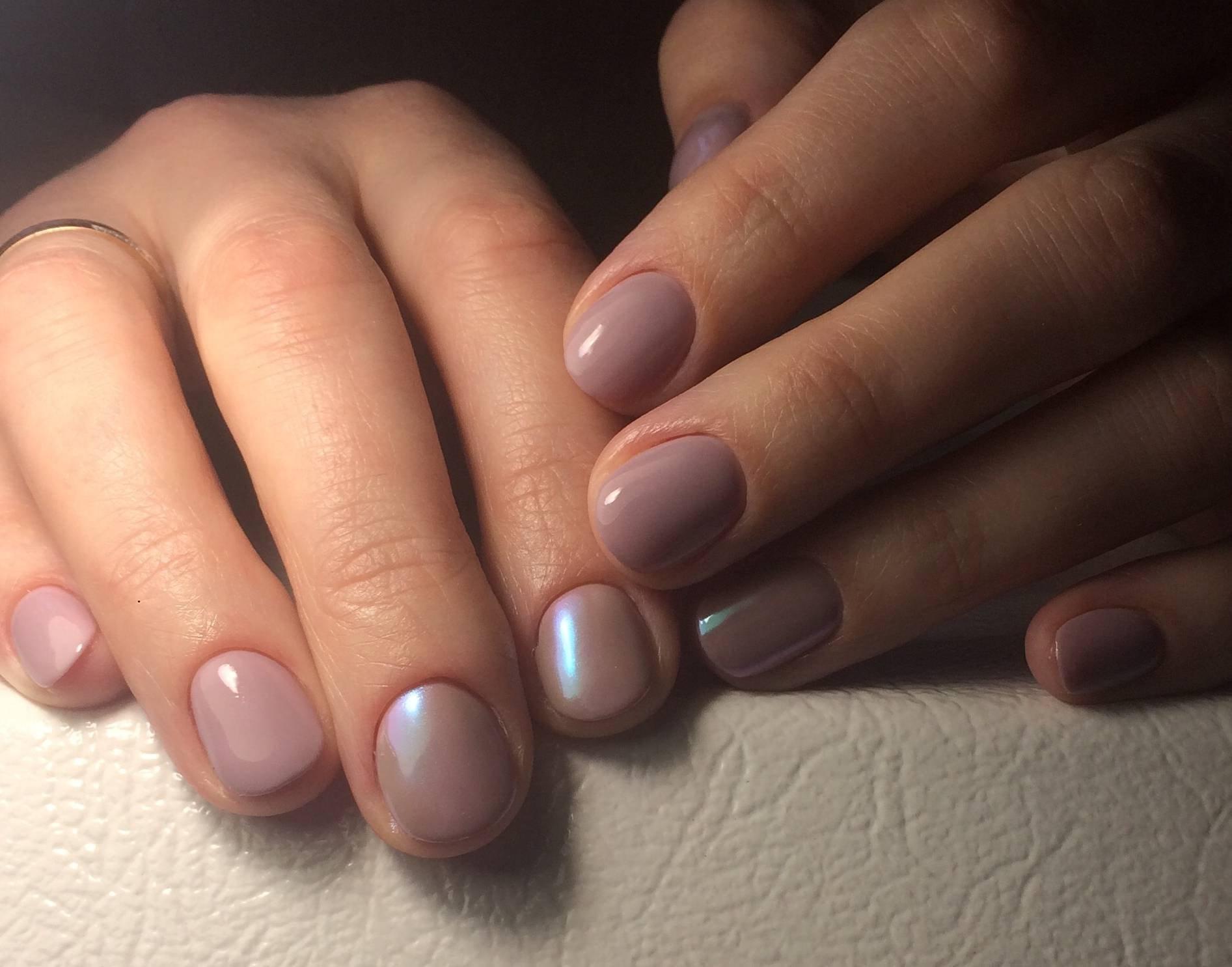 Дизайн овальных коротких ногтей пошаговое фото