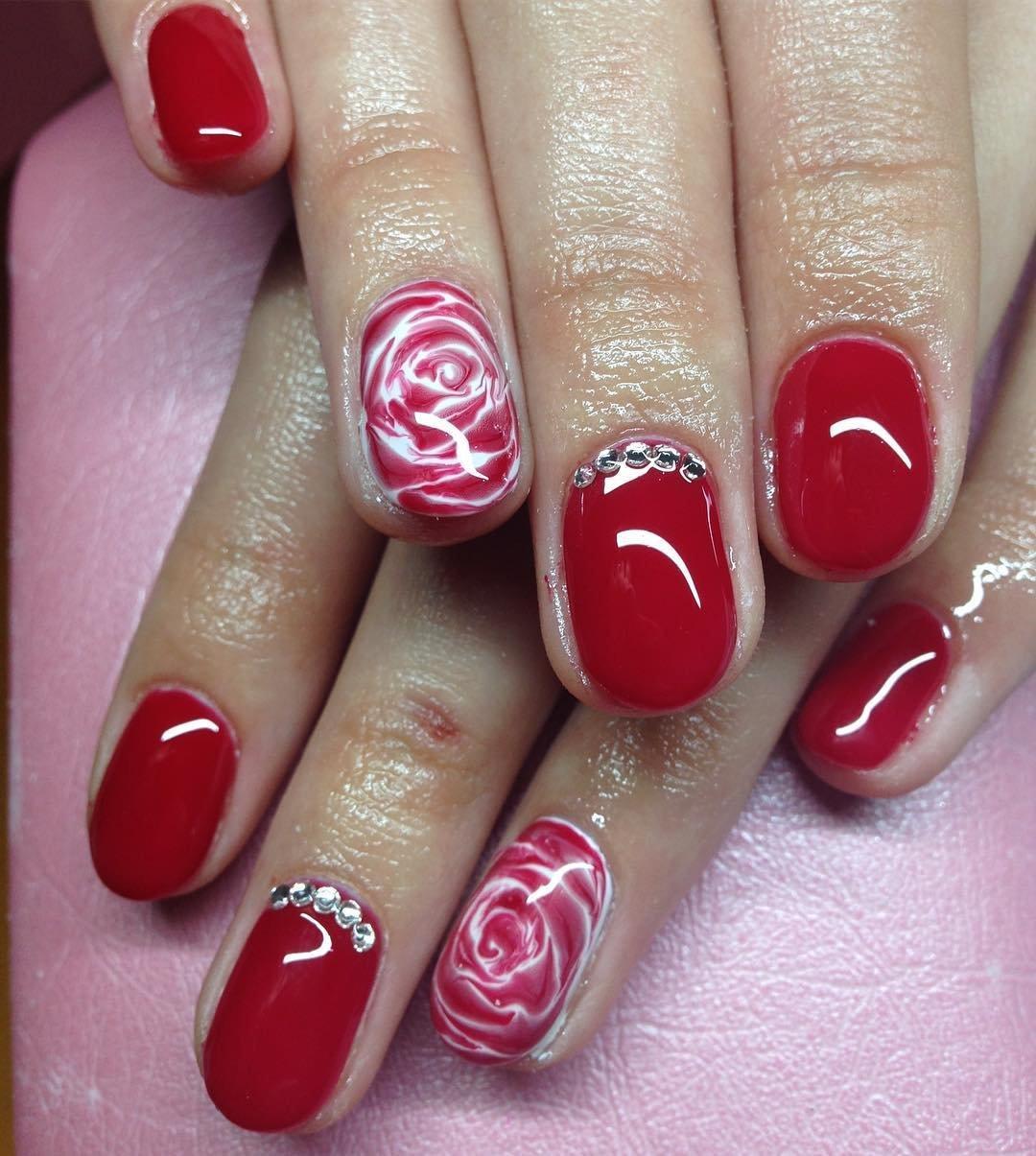 пегова одна гель лак красный на короткие ногти фото хачапури