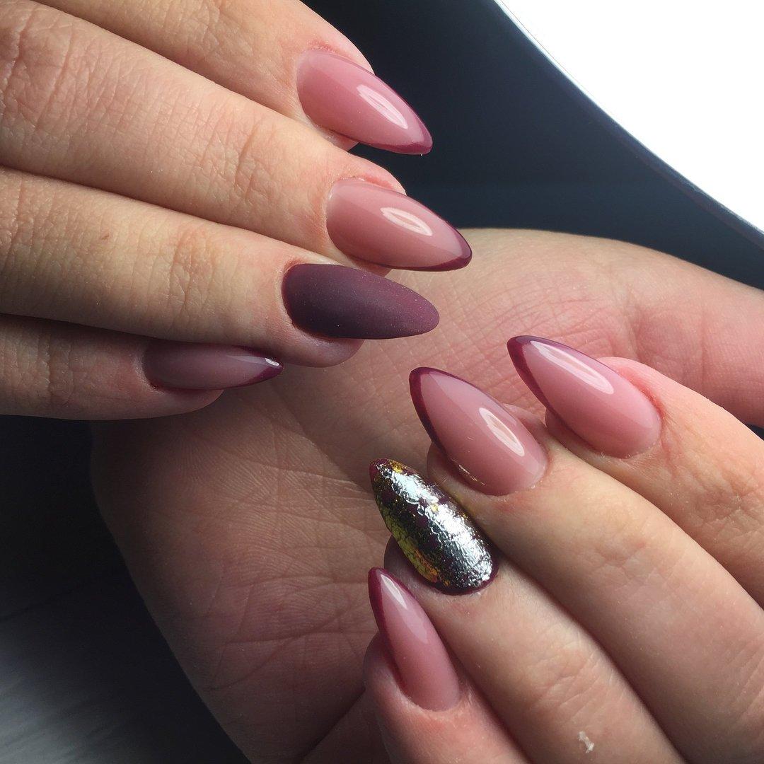 самом деле овальная и миндалевидная форма ногтей фото позвонила зинаиде