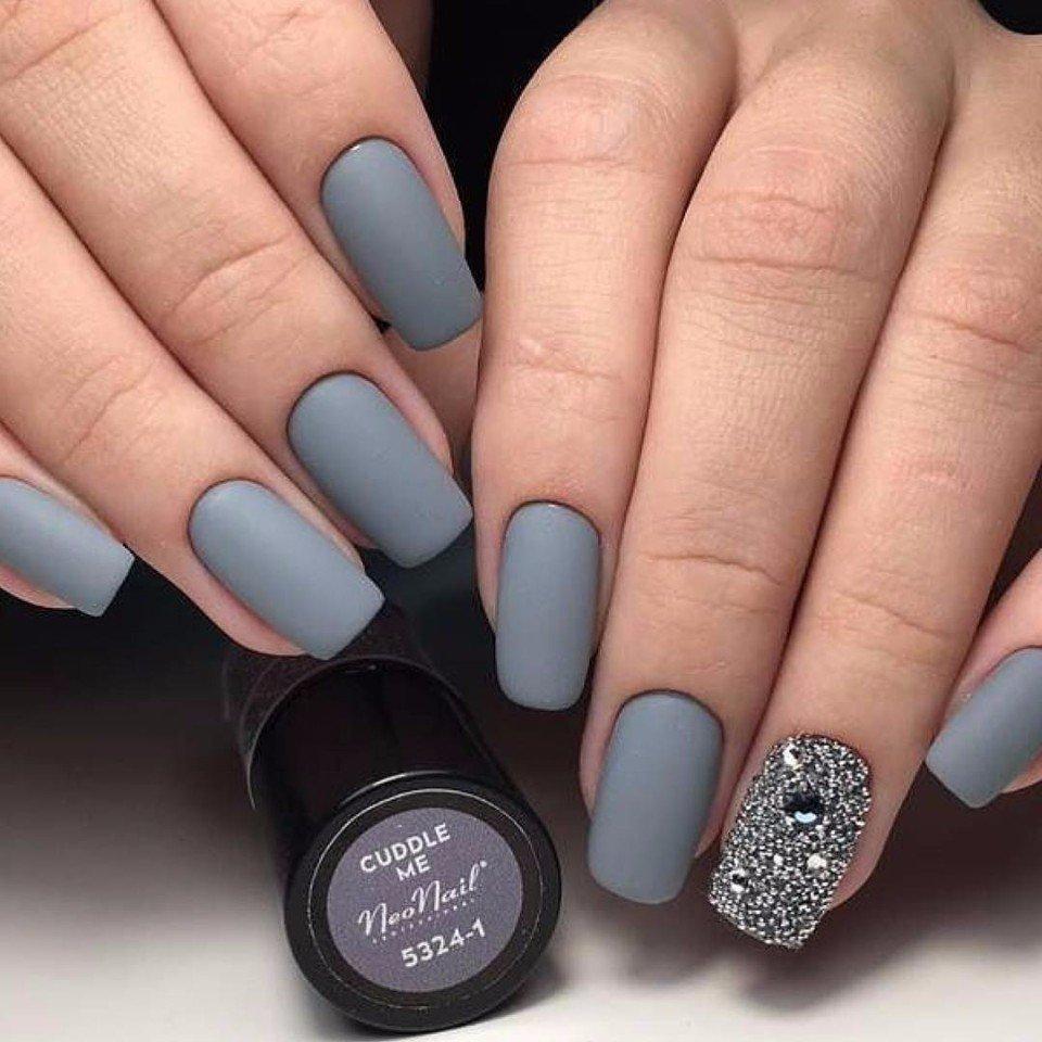 Матовый дизайн ногтей фото новинки