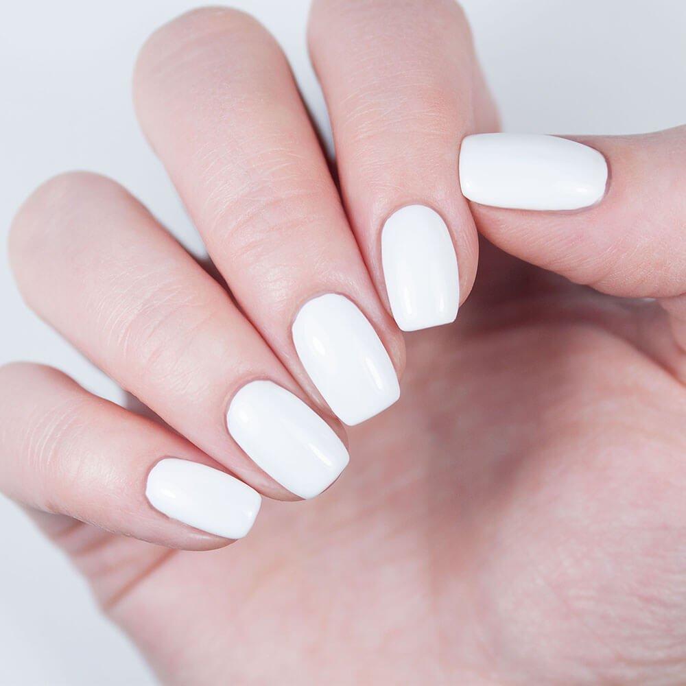 картинки белых ногтей на руках черно-белая или другая