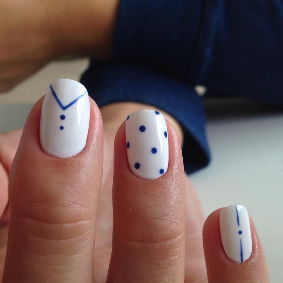Красивые картинки на ногти для начинающих самые легкие