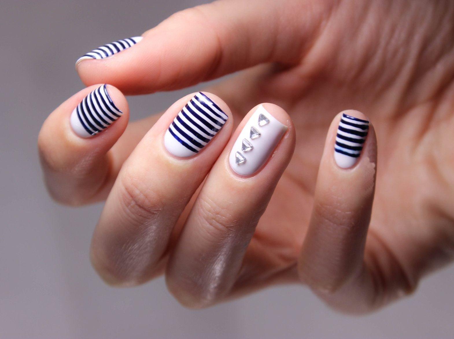 Картинки на ногти фото легкие