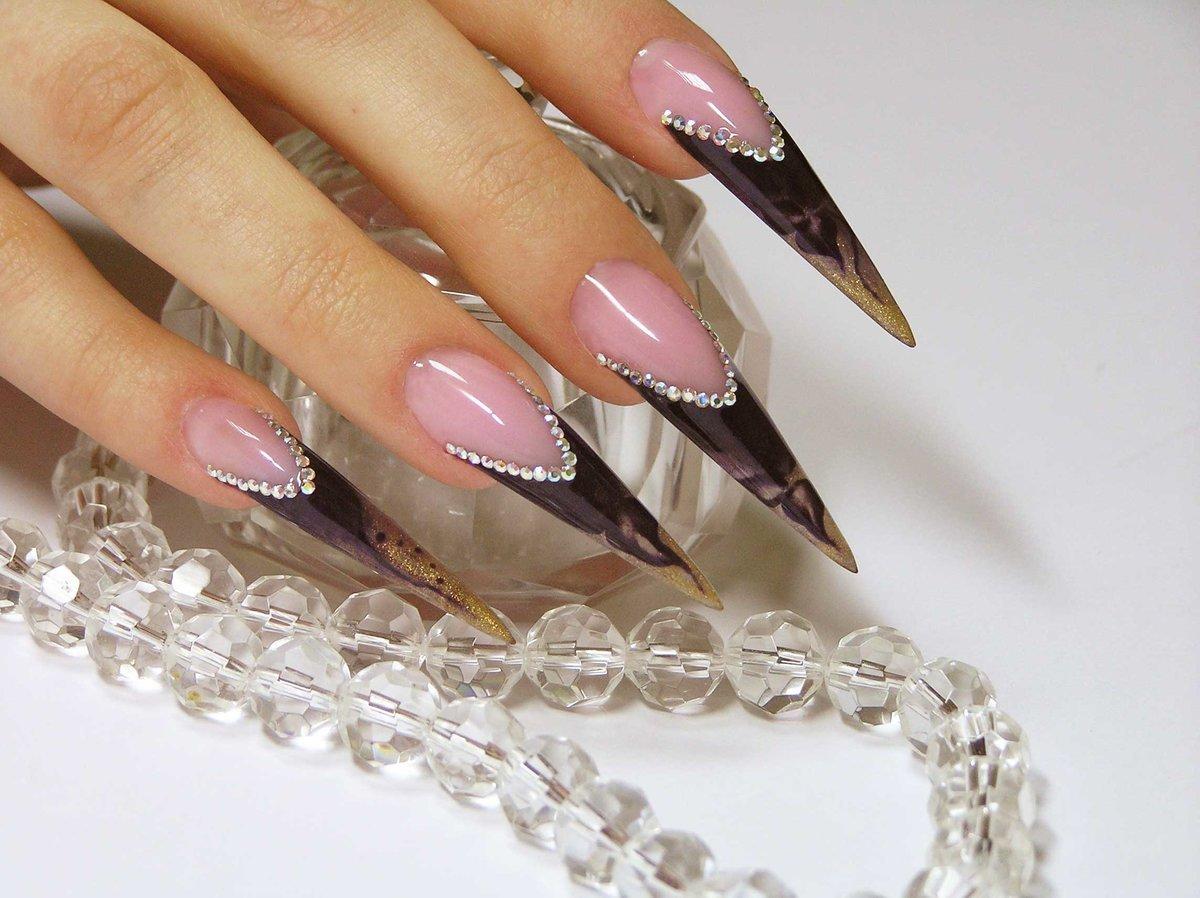 смотреть картинки дизайна нарощенных ногтей секрет, что