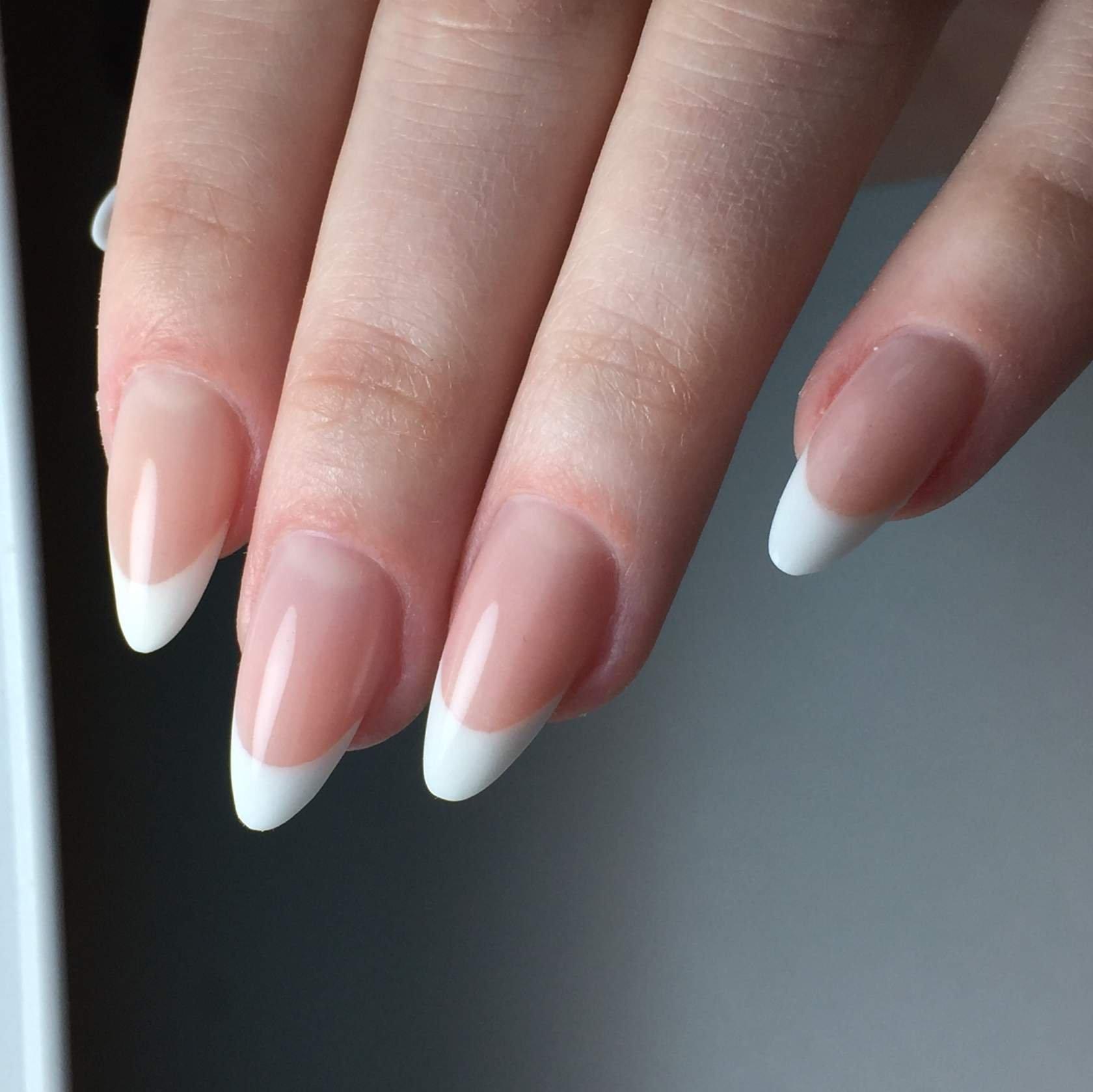 Форма нарощенных ногтей фото