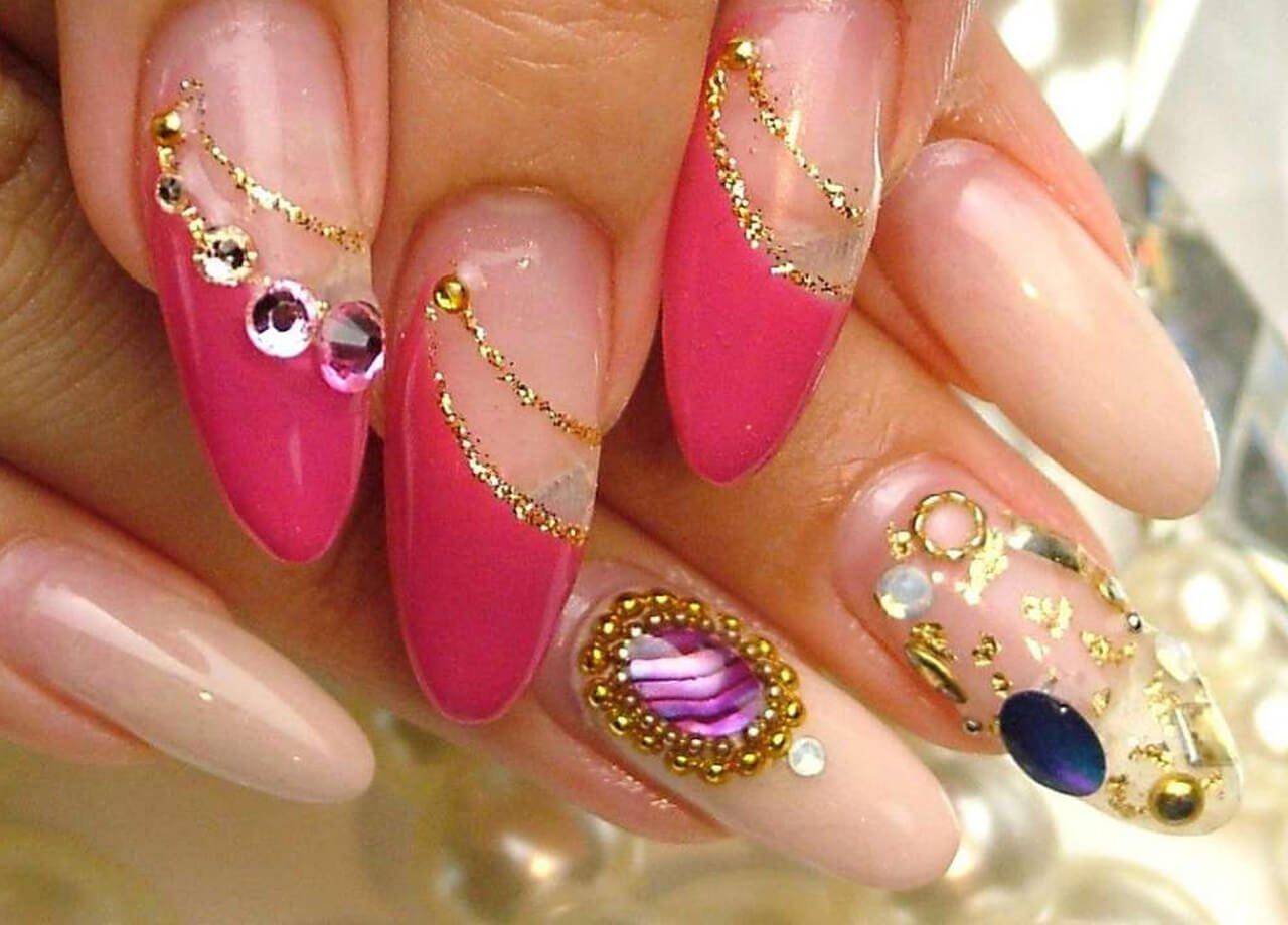 Фото картинки нарощенные ногти