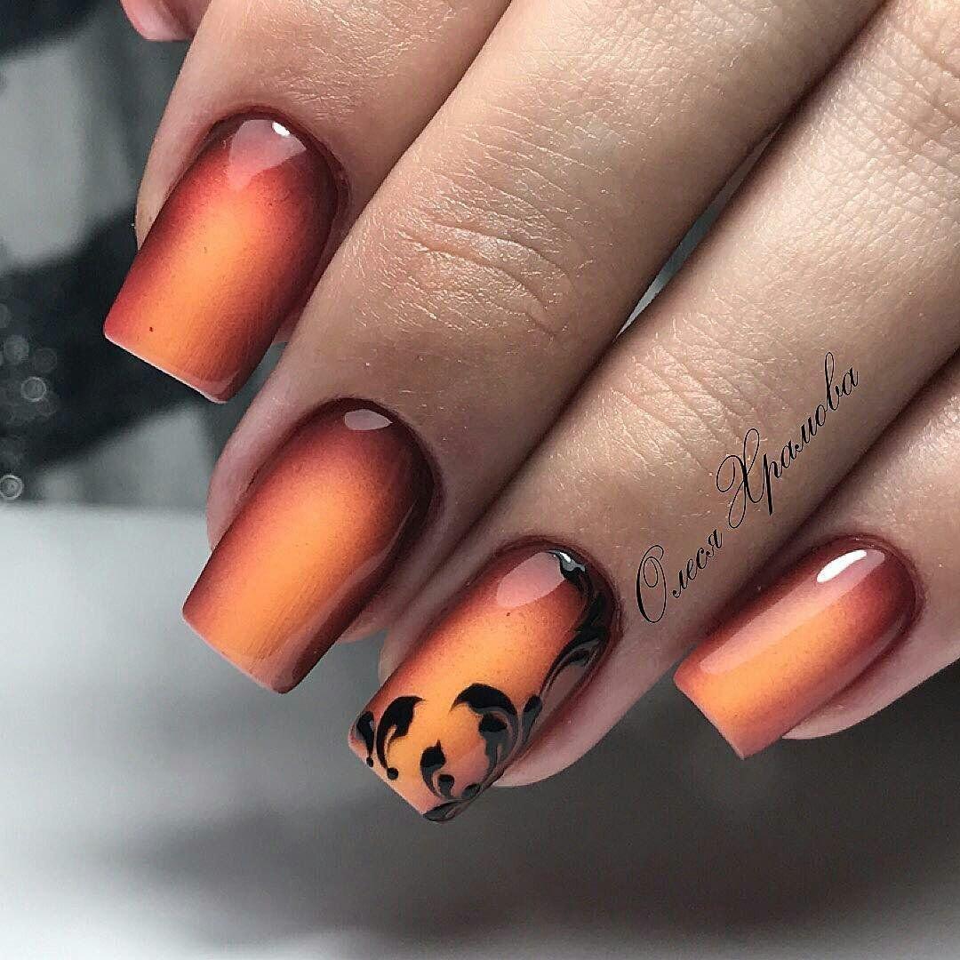 дизайн ногтей осень шеллак фото дизайн, мини-фонтаны мостовые