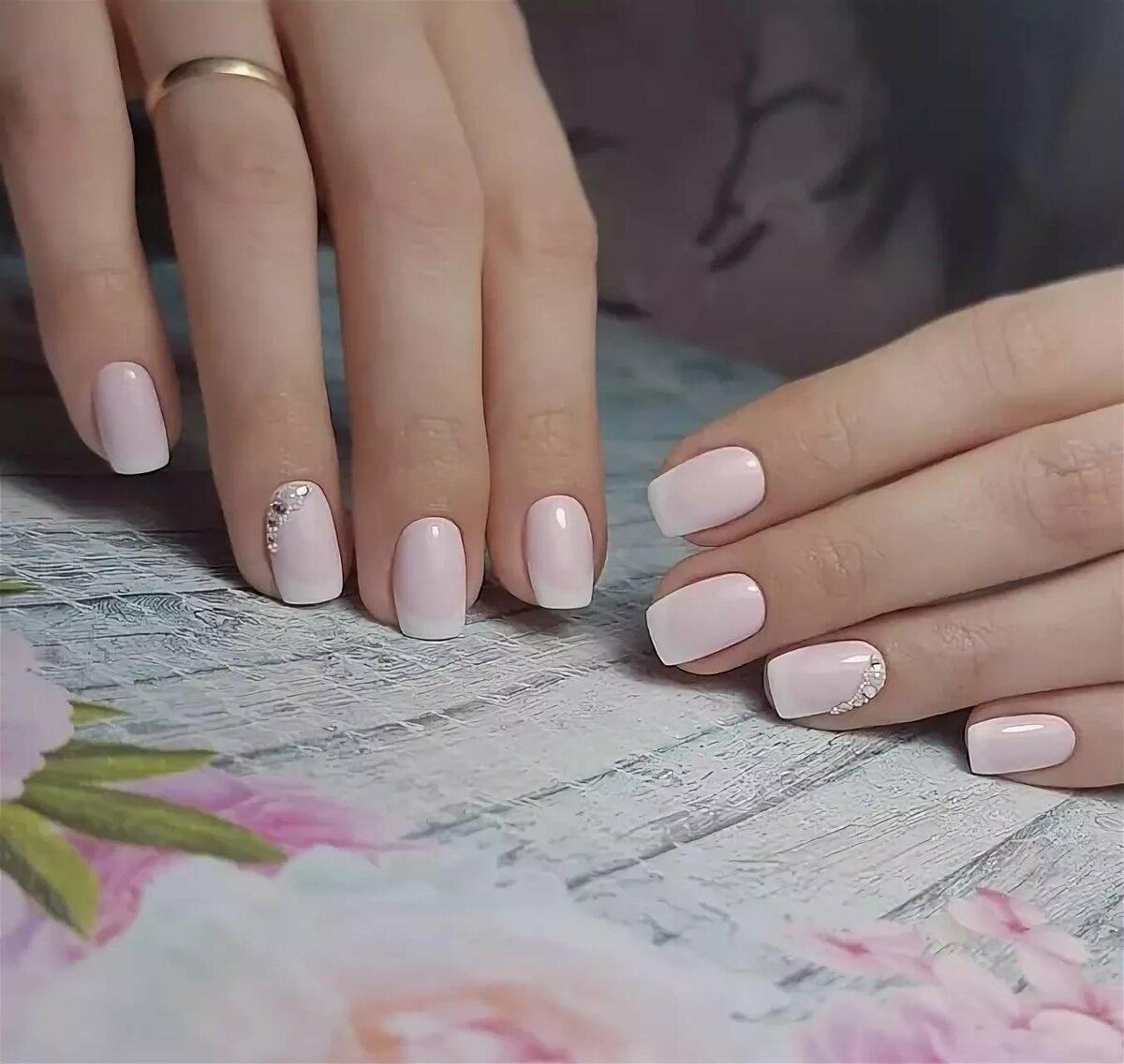 Картинки ногтей в нежных тонах