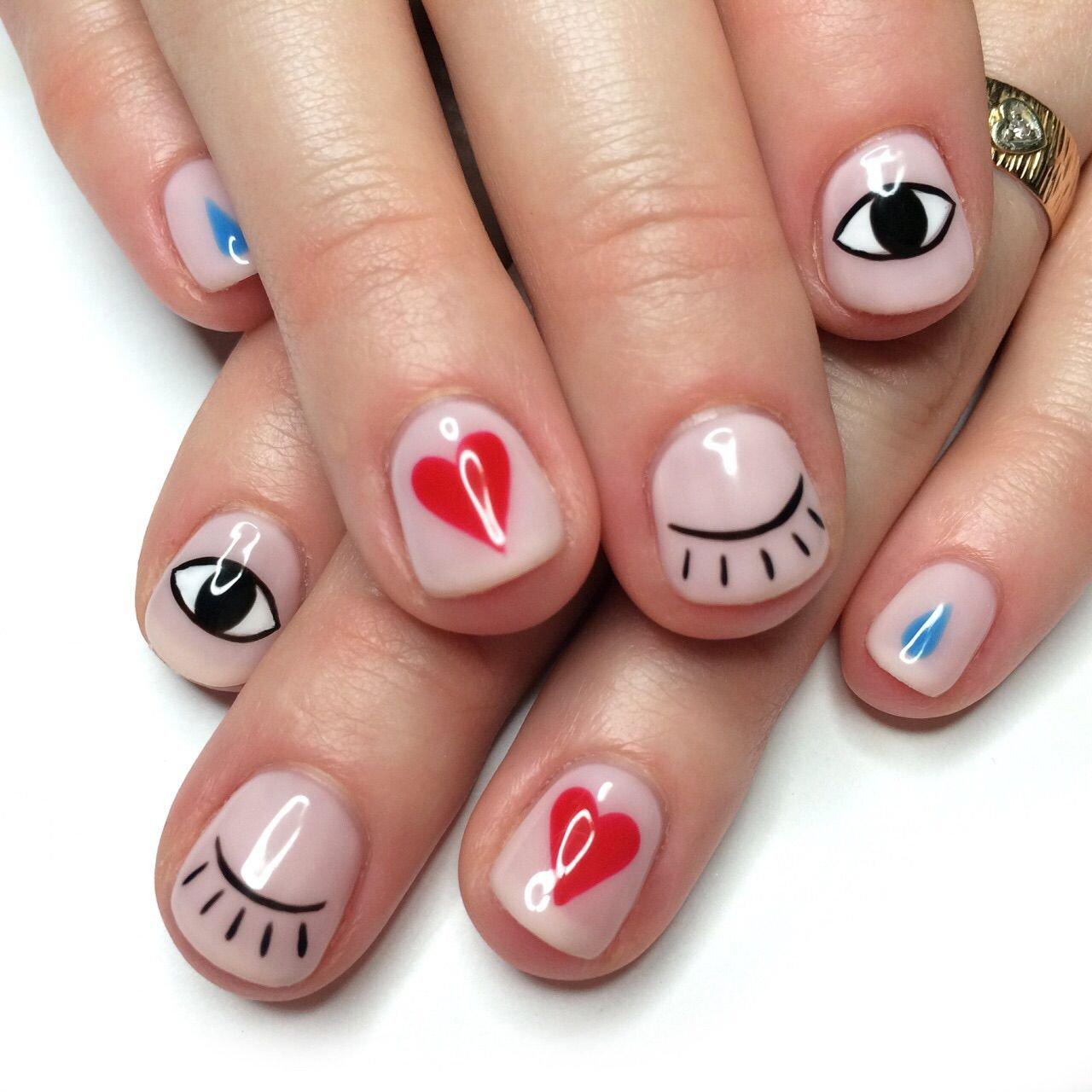 северных современные картинки на короткие ногти смысл том, тобы