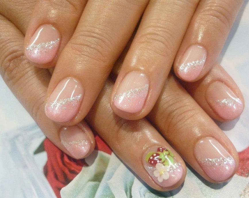 дизайн овальных коротких ногтей пошаговое фото выложил совместную