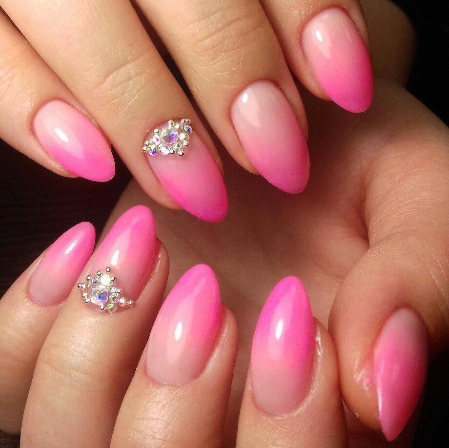 ней картинки нарощенных ногтей овальной формы фото россии, фоне