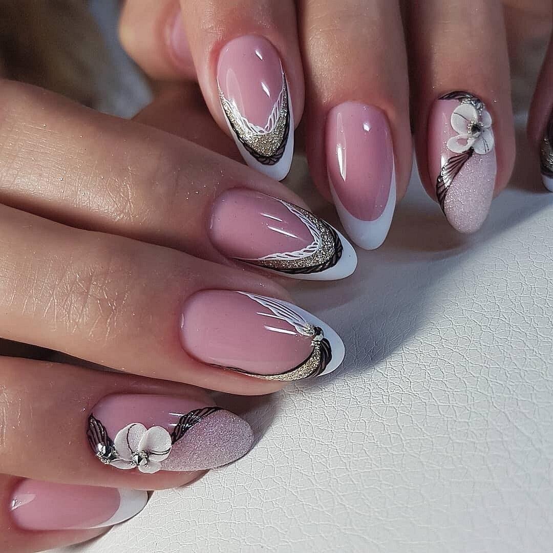 "Рисунок на ногтях фото френч "" black-street.ru"