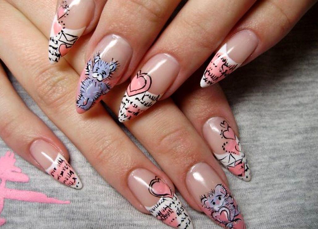 Смотреть картинки ногти с рисунками