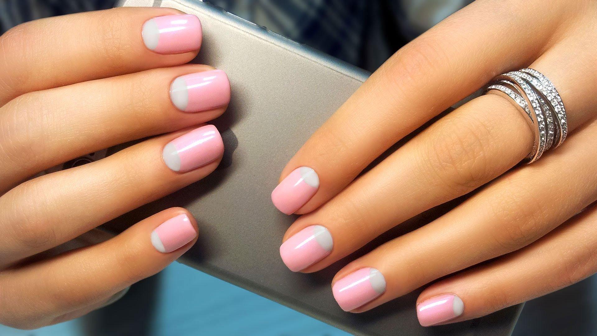 заведений картинки дизайна коротких ногтей шеллак декор