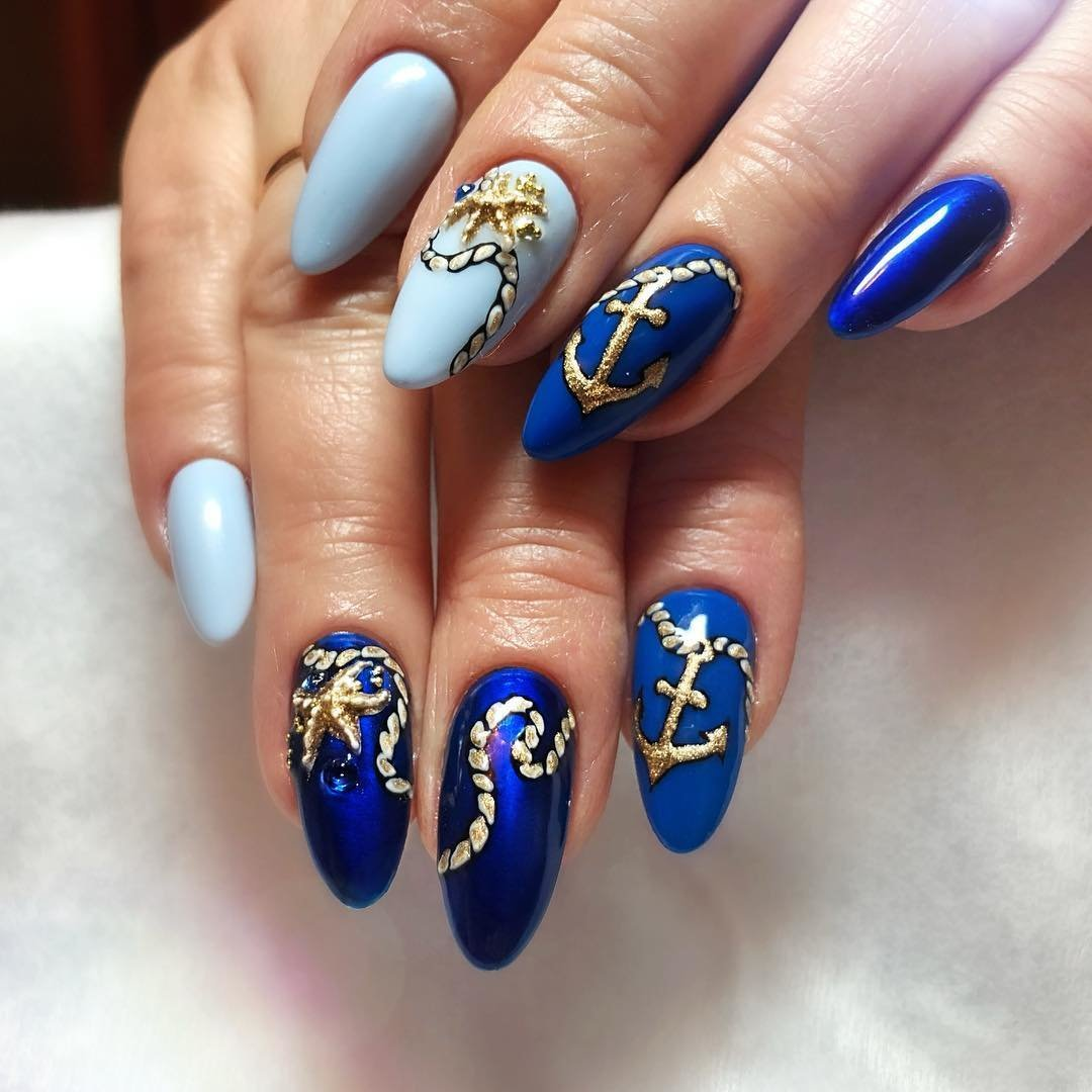 фото пляжных ногтей новинки ингушей