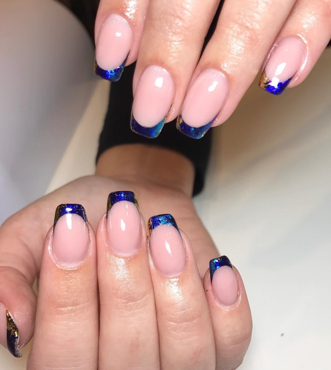 Синий френч картинка