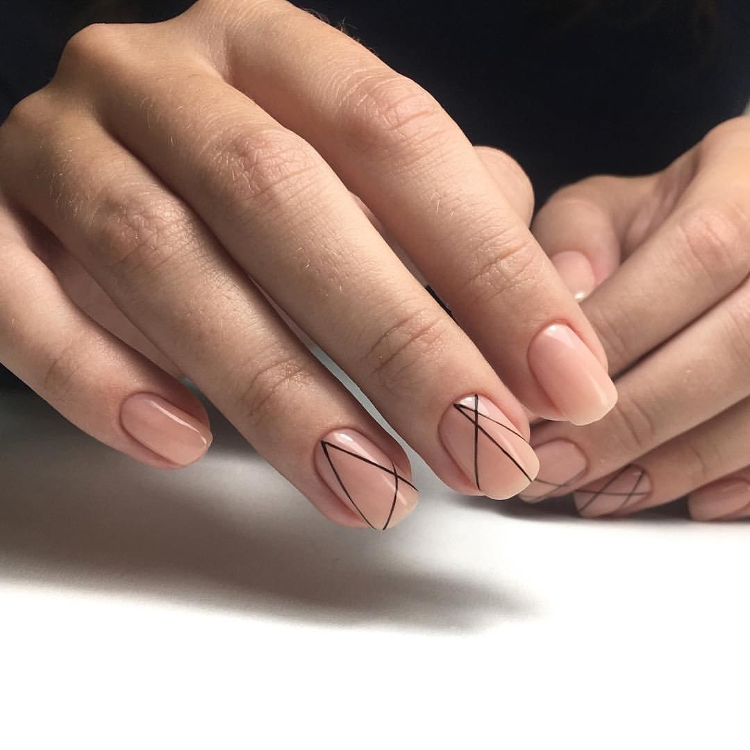 офисный маникюр на короткие ногти фото задумал данную съемку