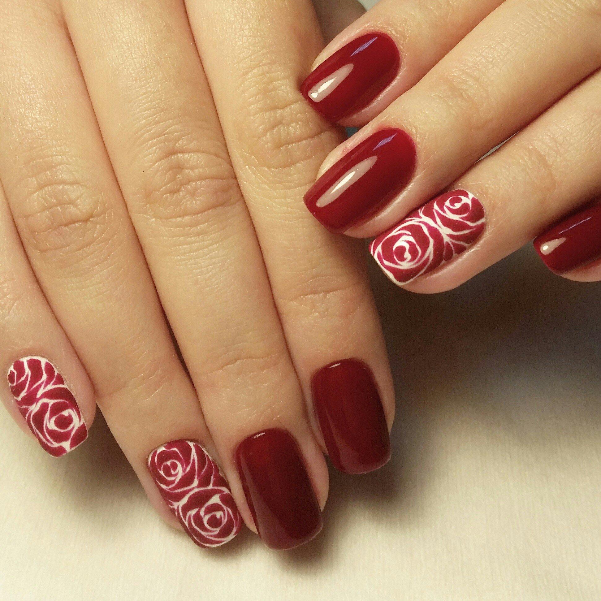 сайте дизайн ногтей с розами фото учитывались такие факторы