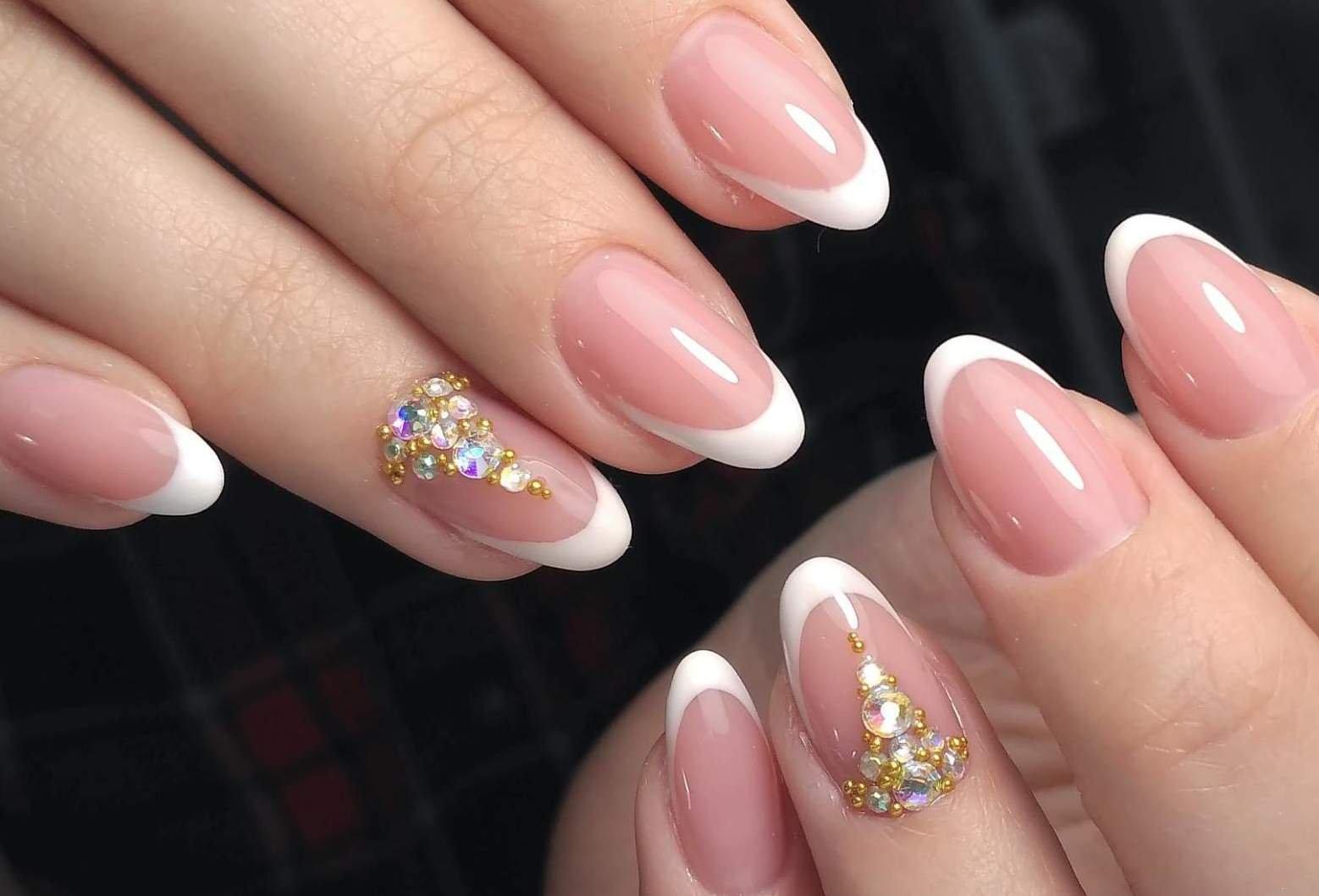картинки формы ногтей френч