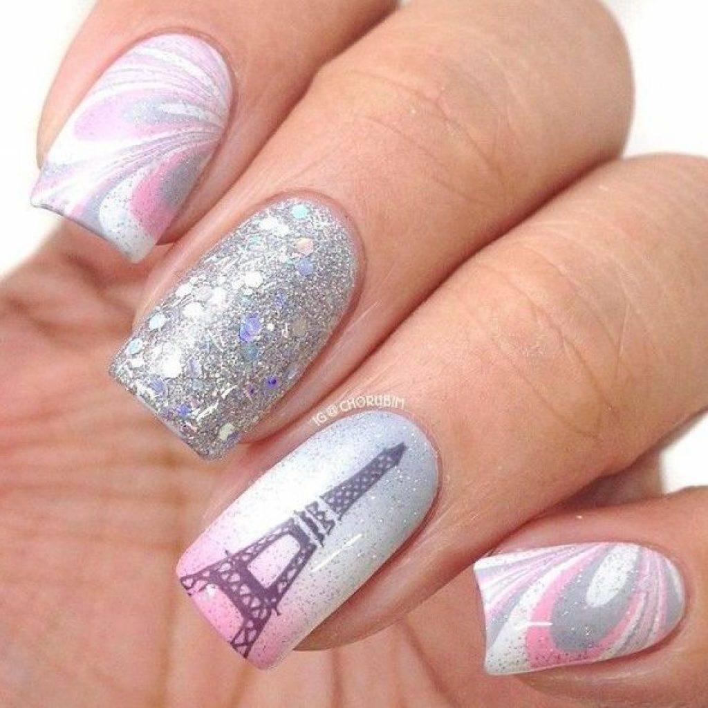 дизайн ногтей картинки парижа создал ничего, что