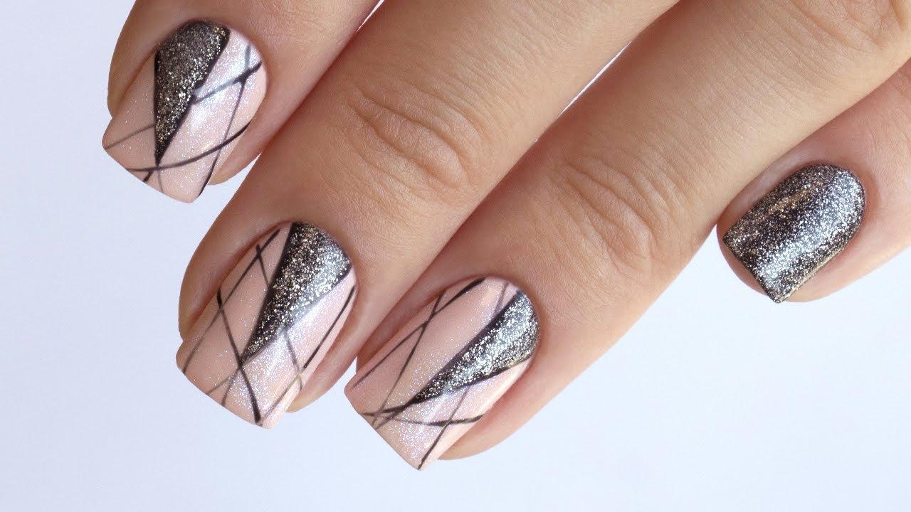 Графика на ногтях фото рисунки шведские