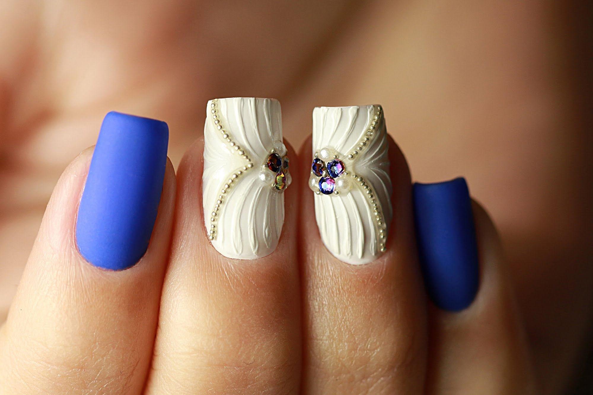 Ракушка на ногтях фото гель лаком