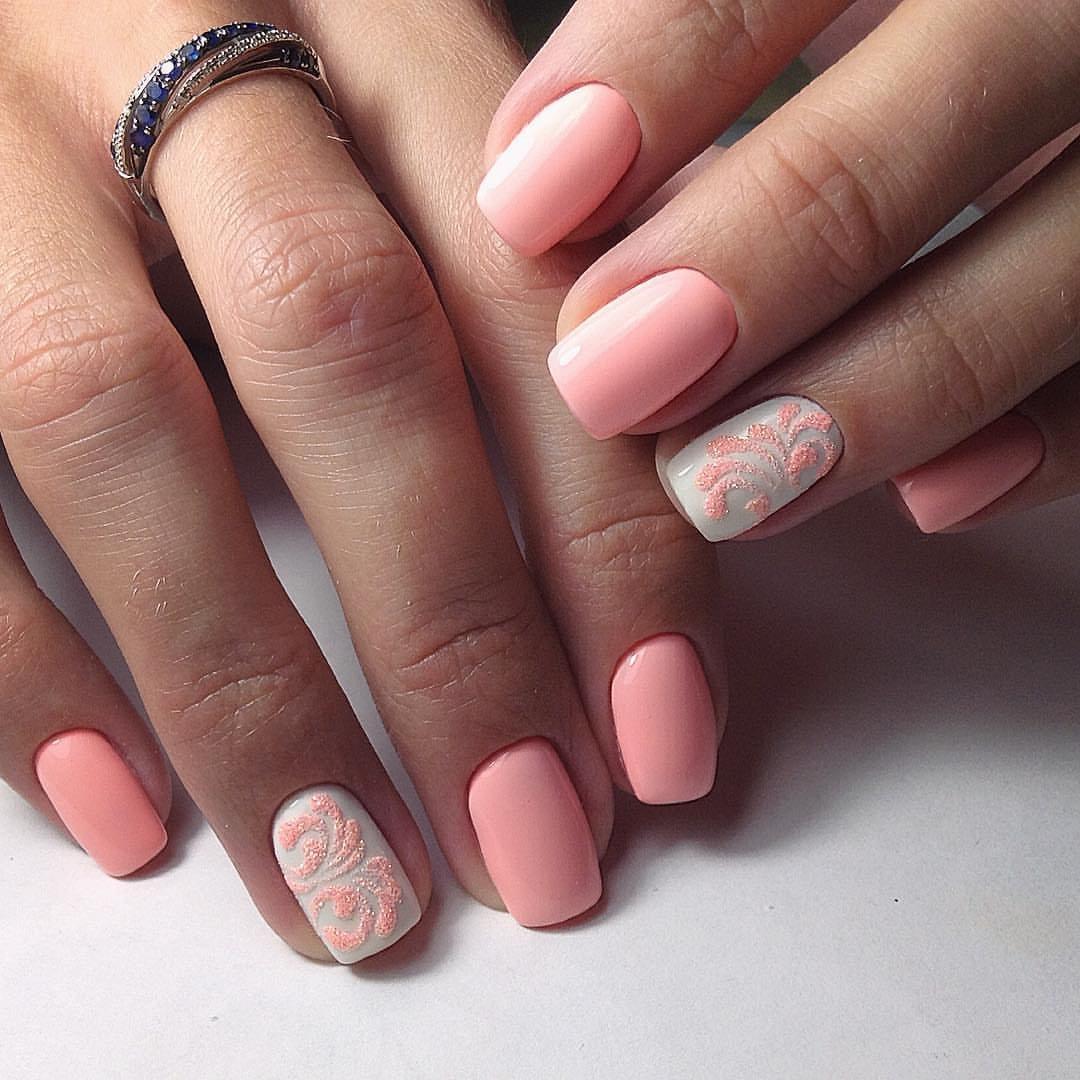 должны заполняться розовый шеллак на ногтях фото этой сфере наблюдается
