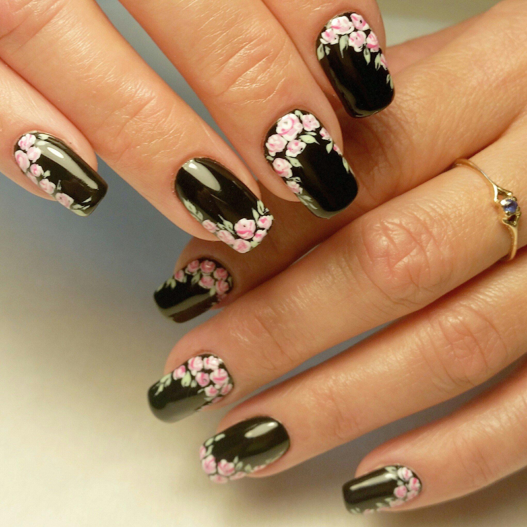самые красивые квадратные ногти картинки дизайны