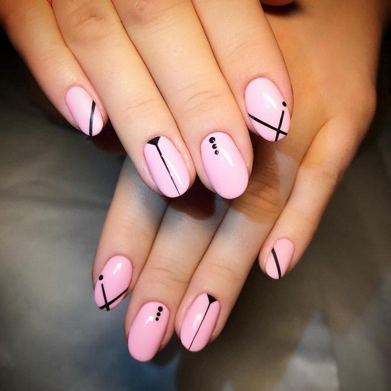 Фото, простые и красивые рисунки на ногтях фото