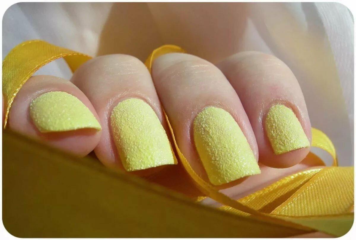 Дизайн ногтей лимончики фото