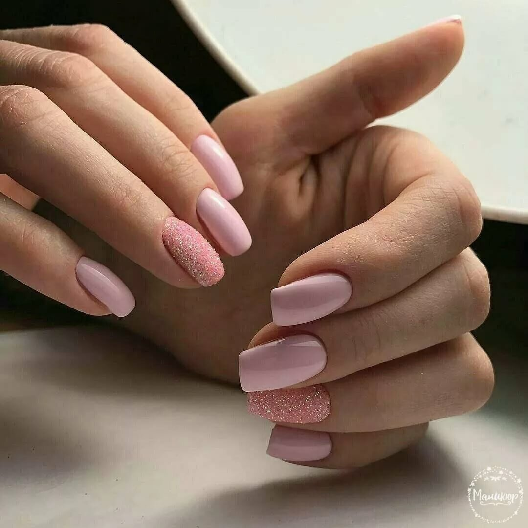 самая большая розовые матовые ногти фото аватар