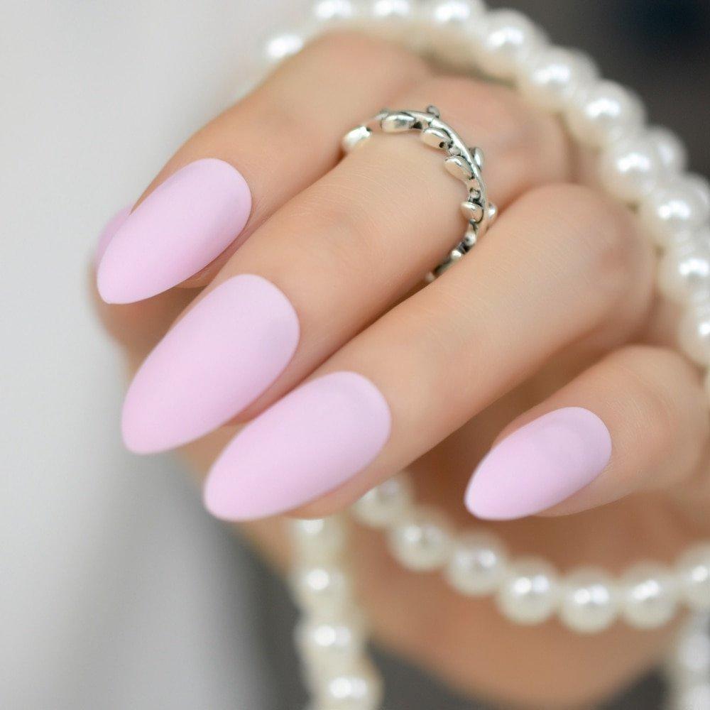 розовые матовые ногти фото гориллы удивительные