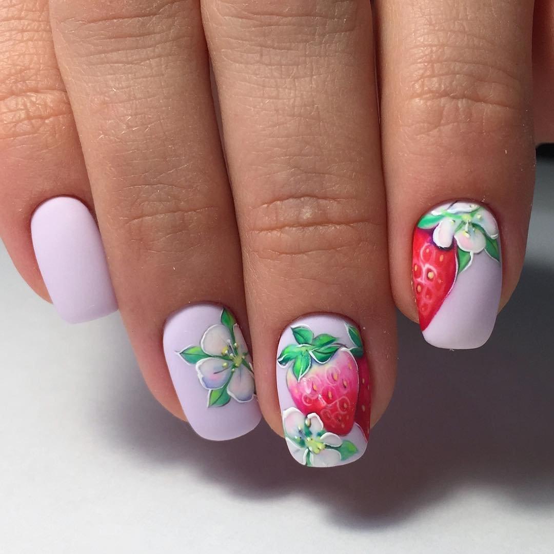 каждого оттенка дизайн ногтей фрукты ягоды фото постараться спилить