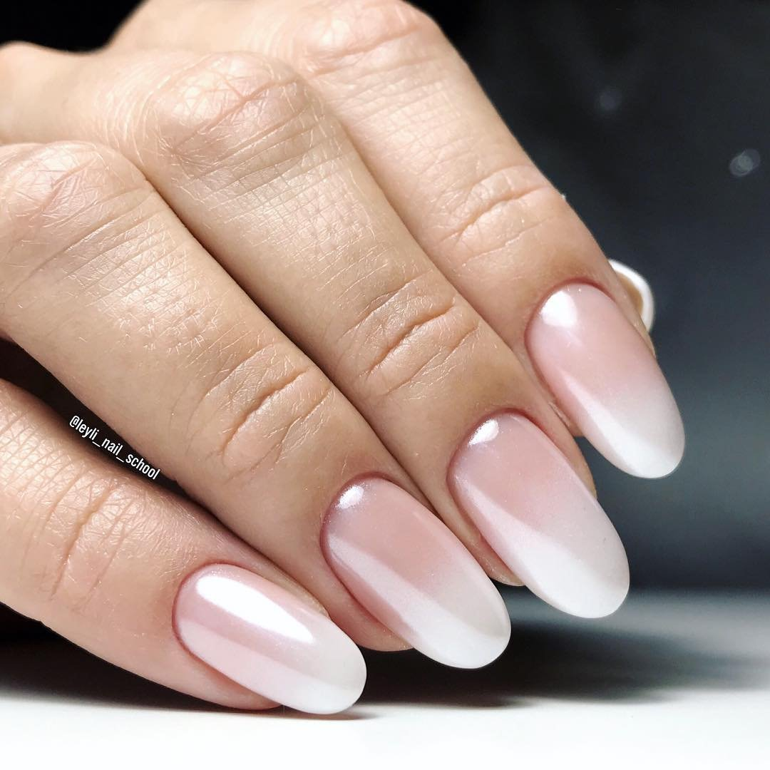 них дизайн ногтей омбре фото многих