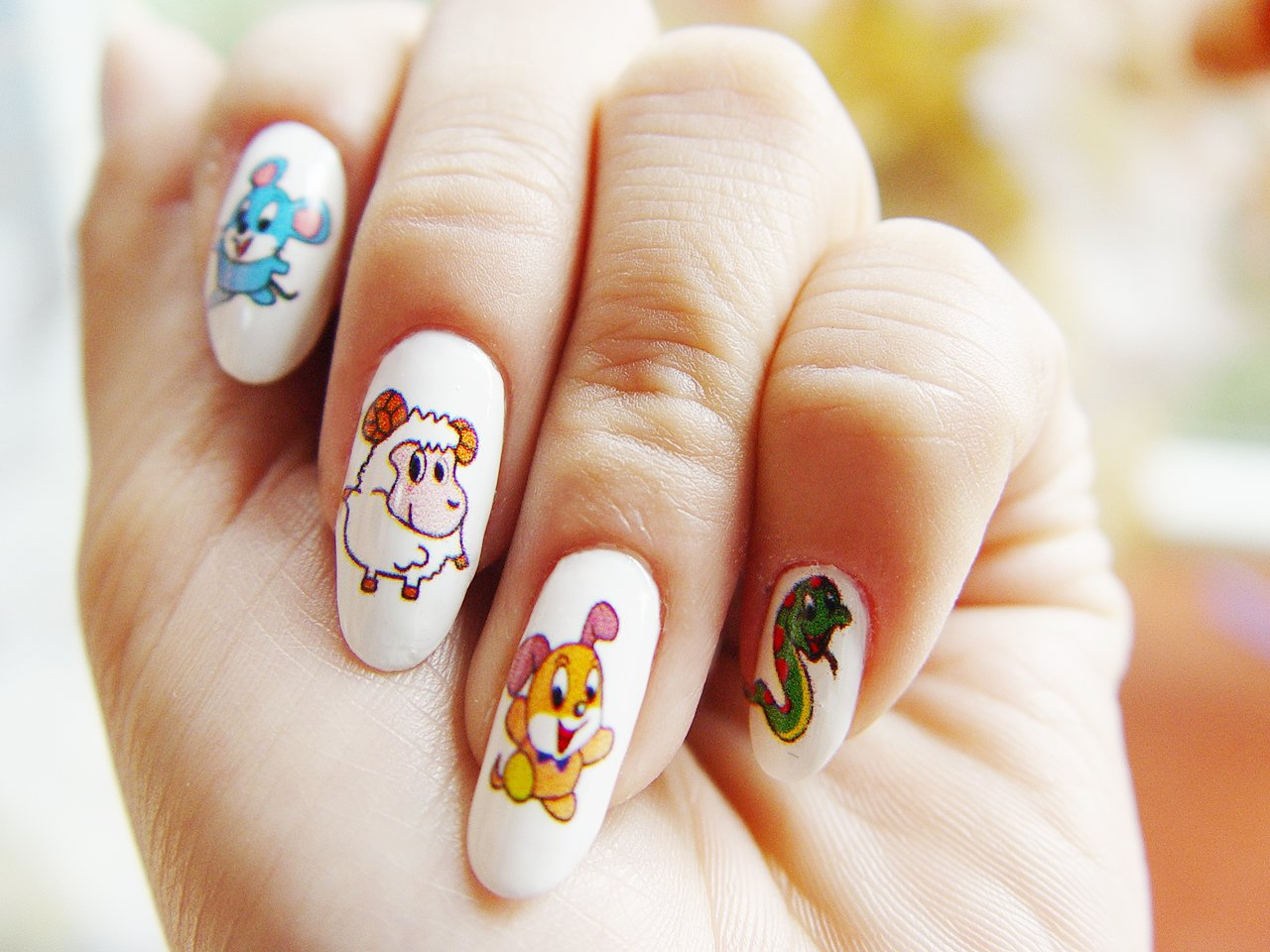 картинки с рисунками на ногтях маленьких