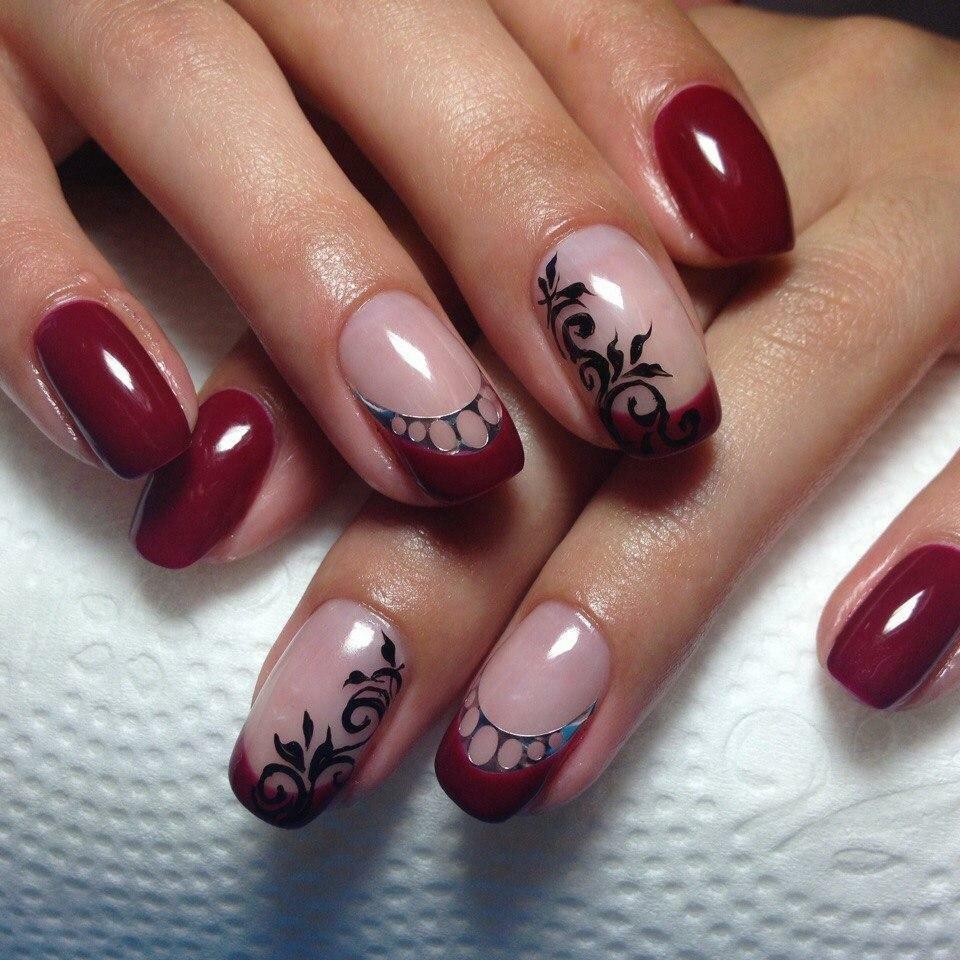 Красивые рисунки ногтей гель лаком фото новинки