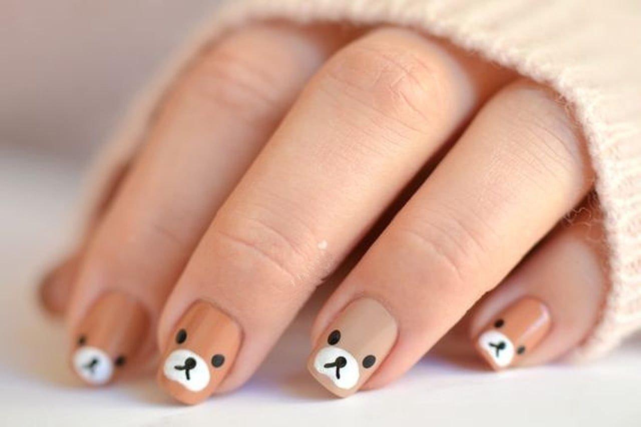 Детский дизайн ногтей картинки