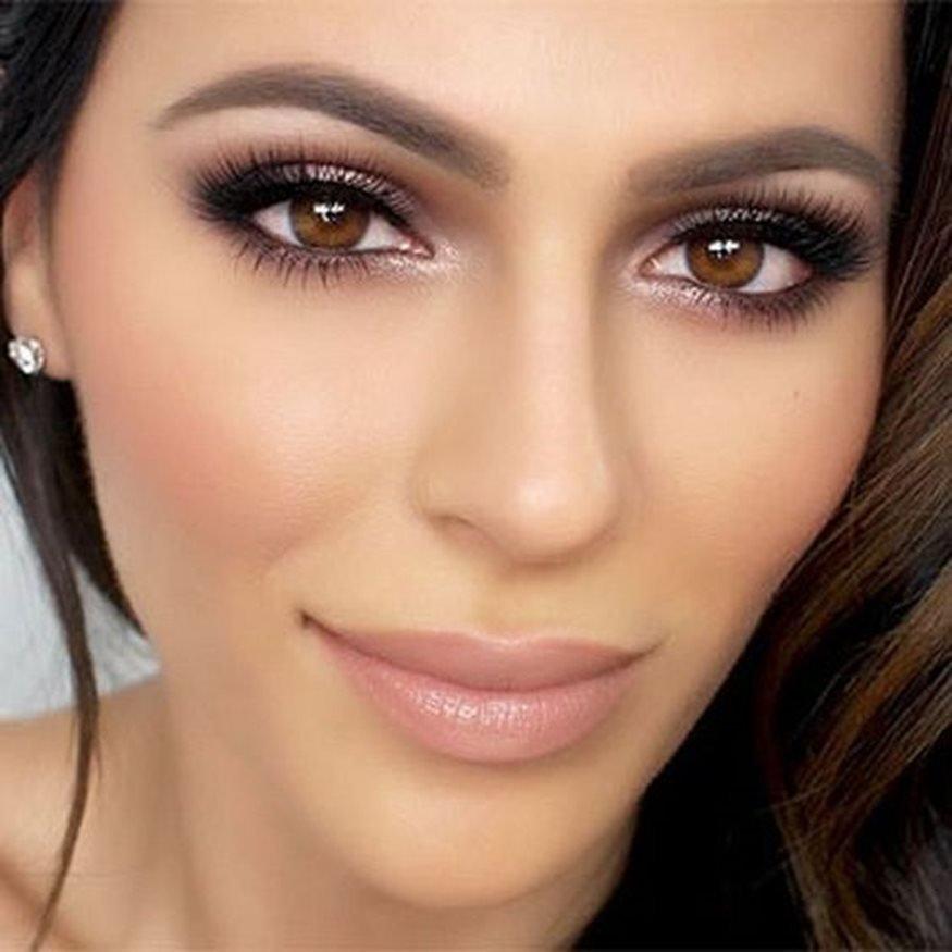 радость волнением показать фото с макияжем для карих глаз лиллехаммер