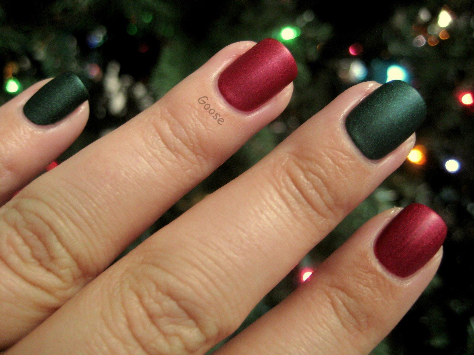 сочетание цветов лаков для ногтей фото