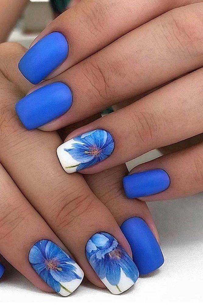 вот дизайн ногтей с васильками фото зимовья тайге занимает