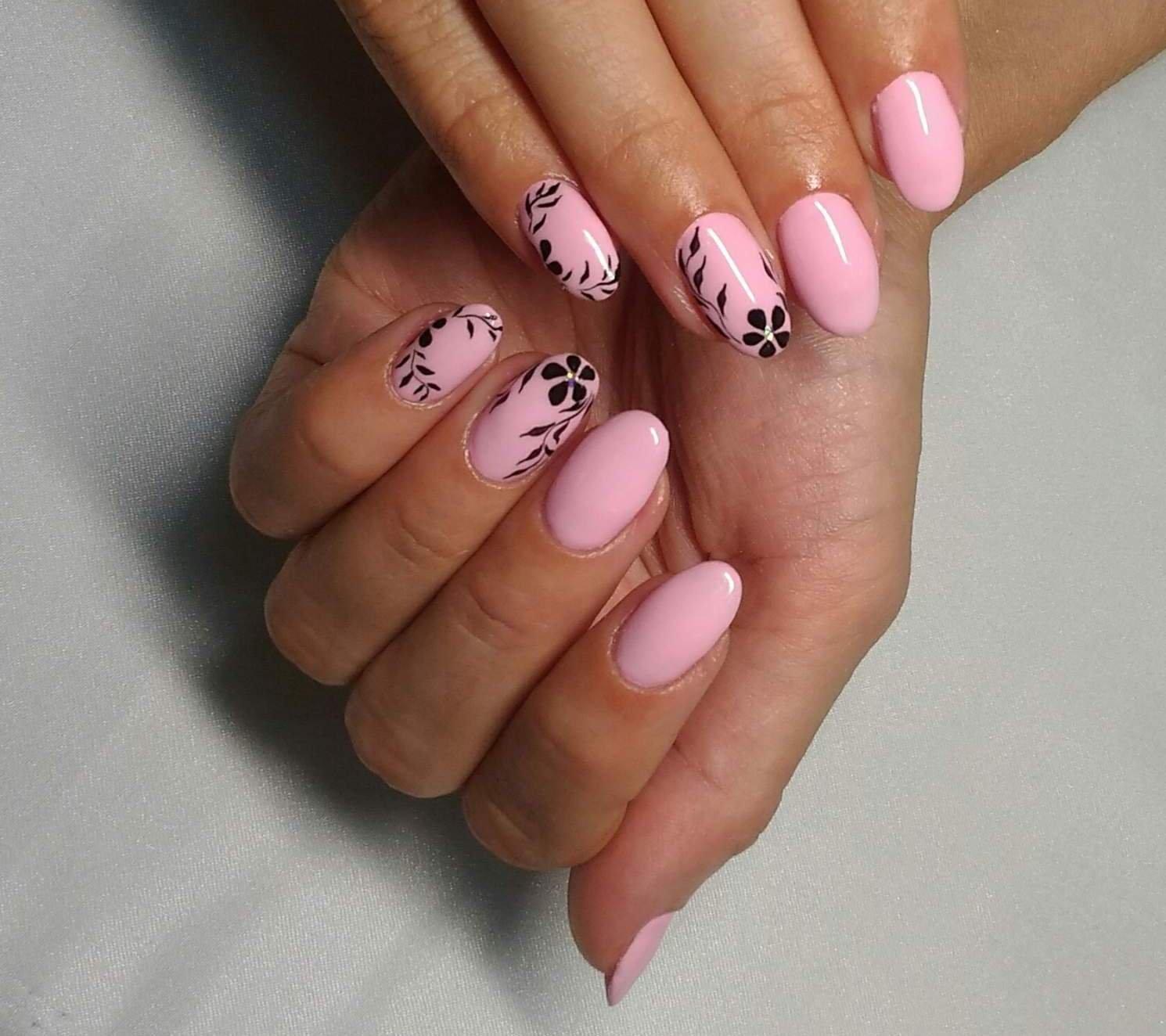 Рисунки на ногтях фото простые но красивые