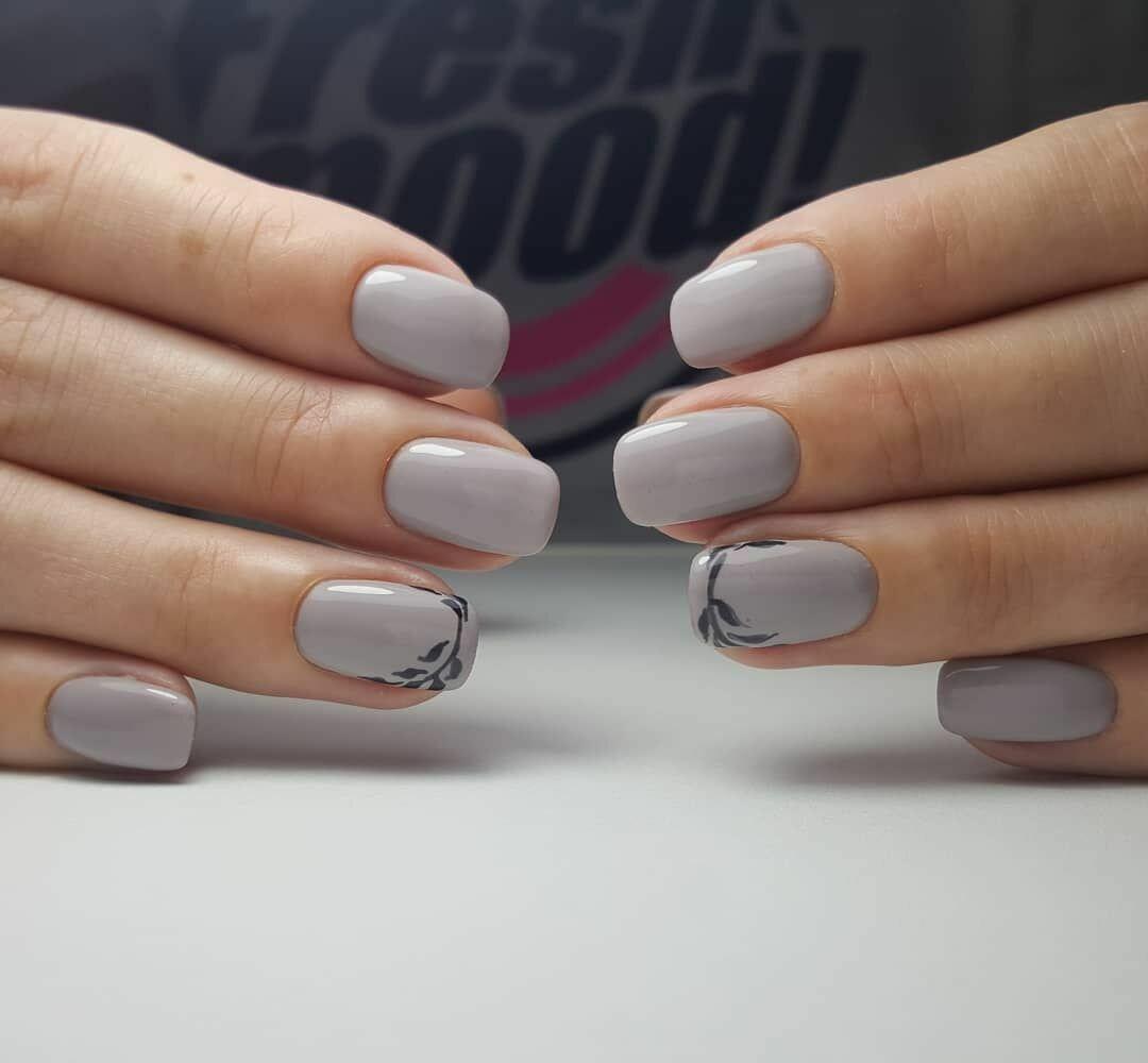 офисный маникюр на короткие ногти фото колледжа, где она