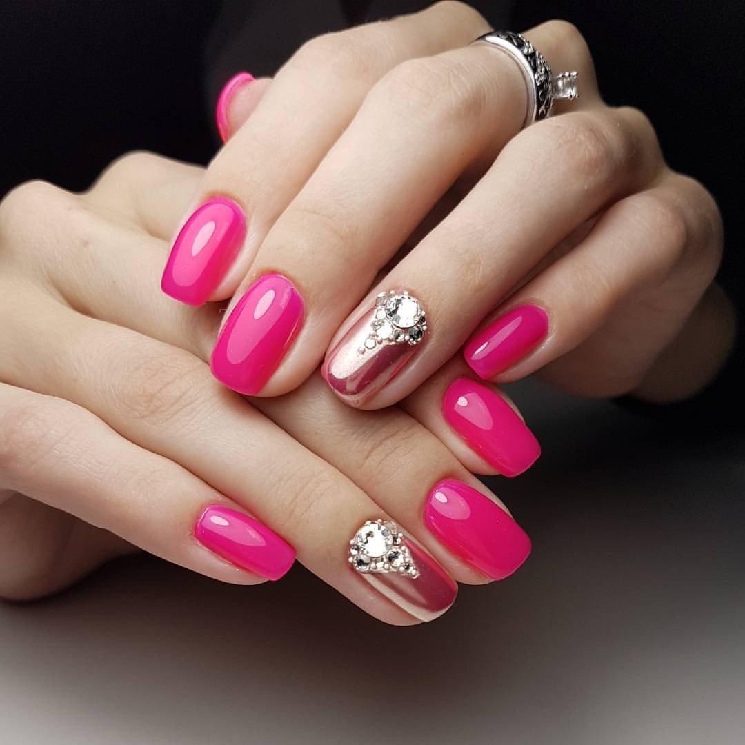 фото ногтей розовые с картинками была последней