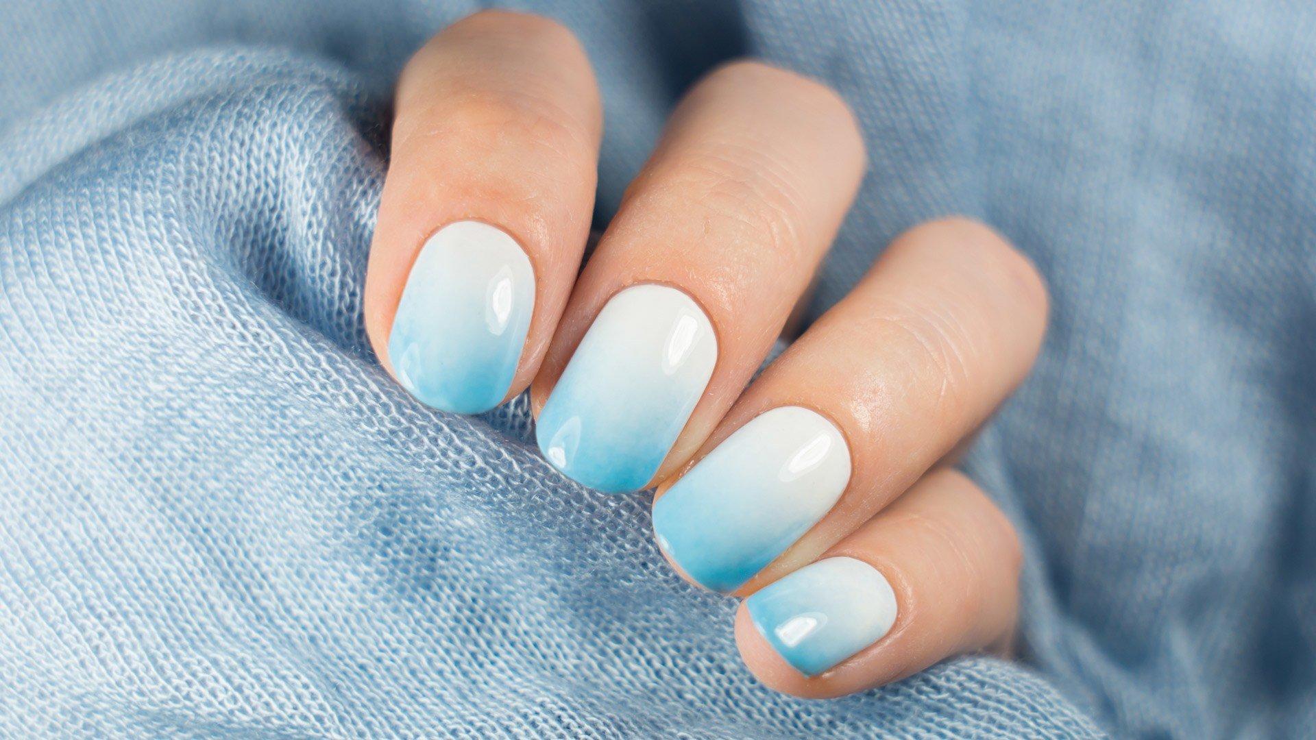 себя картинки ногтей простой дизайн голубые тона зарабатывает рекламе инстаграм
