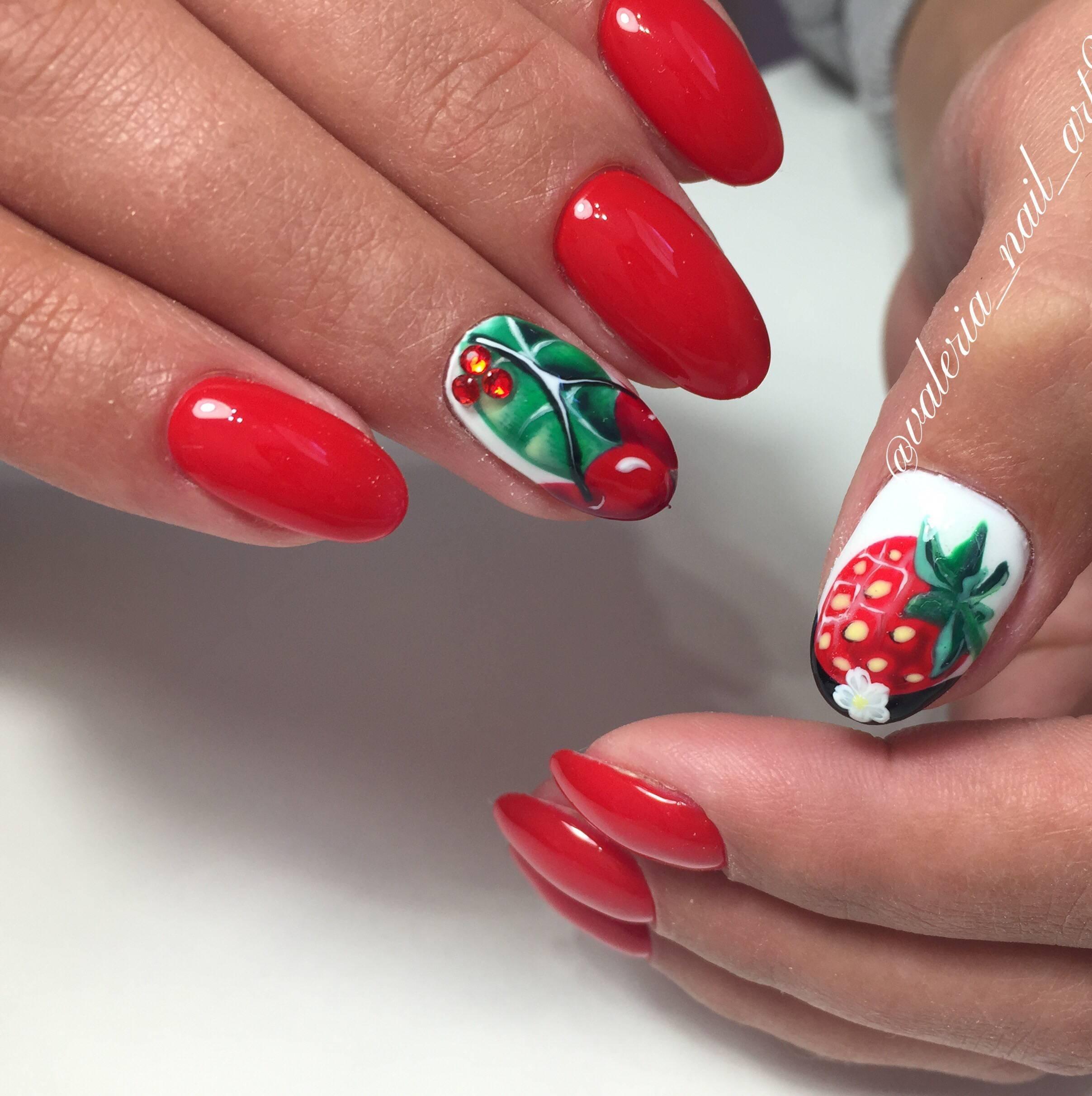 фото маникюр ягоды открытки для посткроссинг