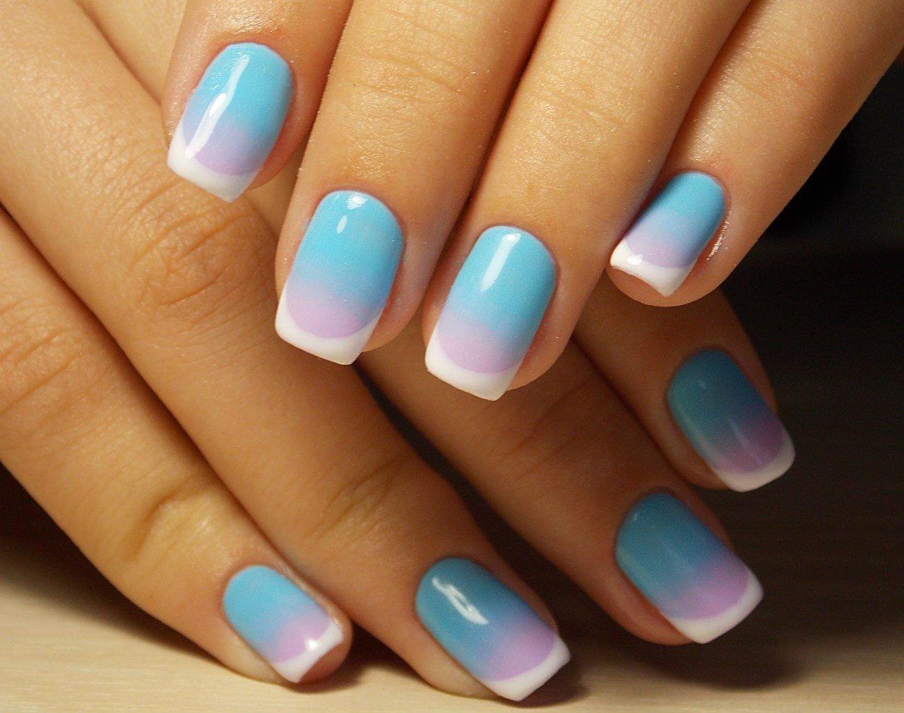 ногти гелевые дизайн фото лето новосибирске