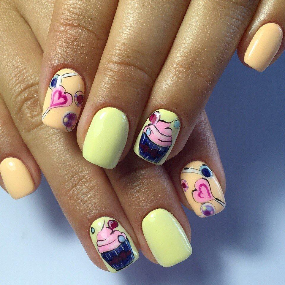 Картинки ногтей летний ногти