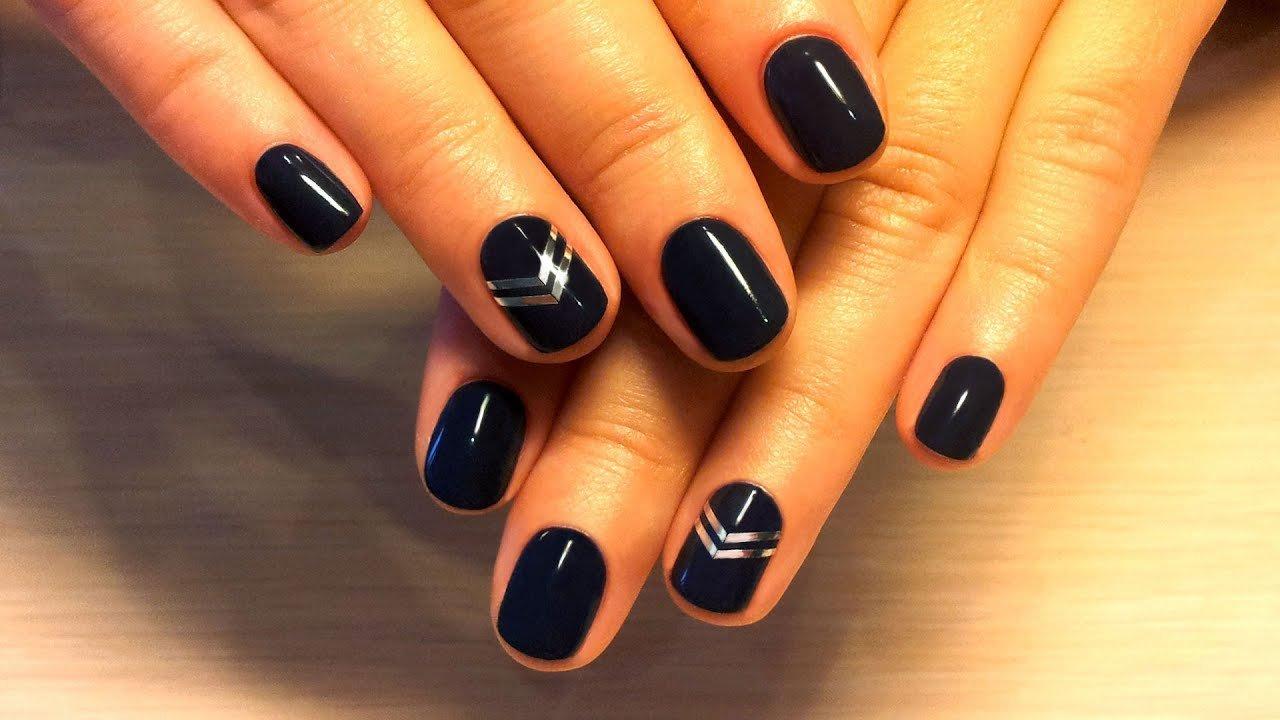 Дизайн ногтей шеллаком для начинающих фото